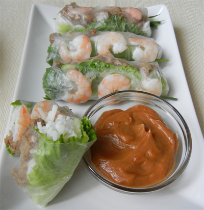 Vietnamese Style Pork Shrimp Spring Rolls Old Neighborhood Foods